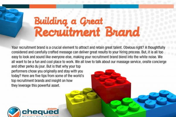 Infographic – Building A Great Recruitment Brand